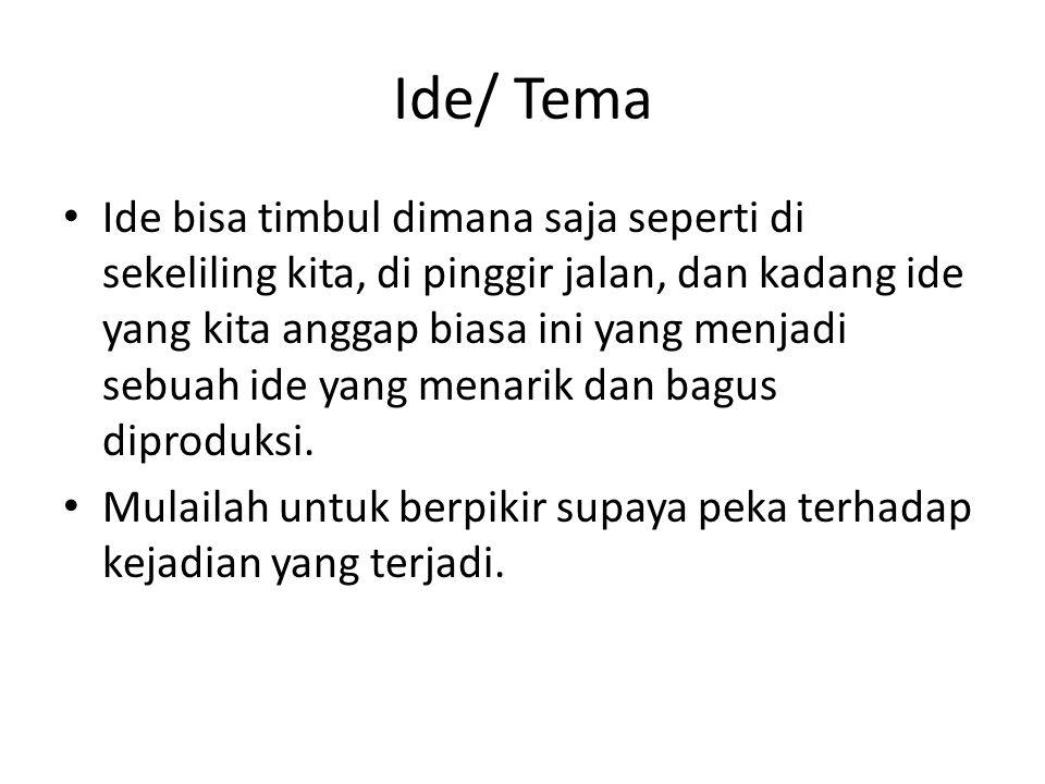 Ide/ Tema