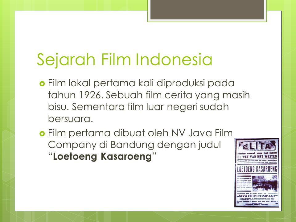 Sejarah Film Indonesia