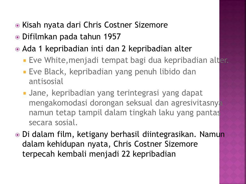 Kisah nyata dari Chris Costner Sizemore