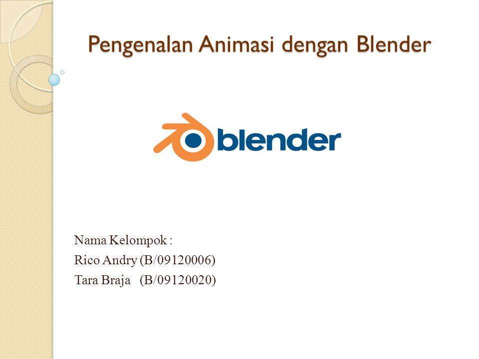 Pengenalan Animasi dengan Blender