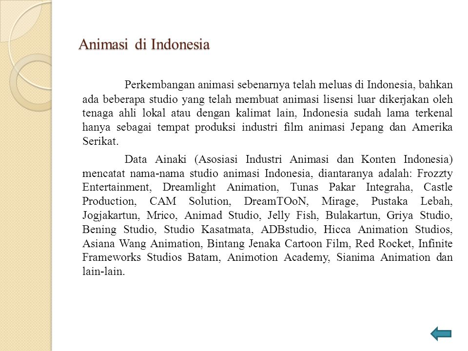 Animasi di Indonesia