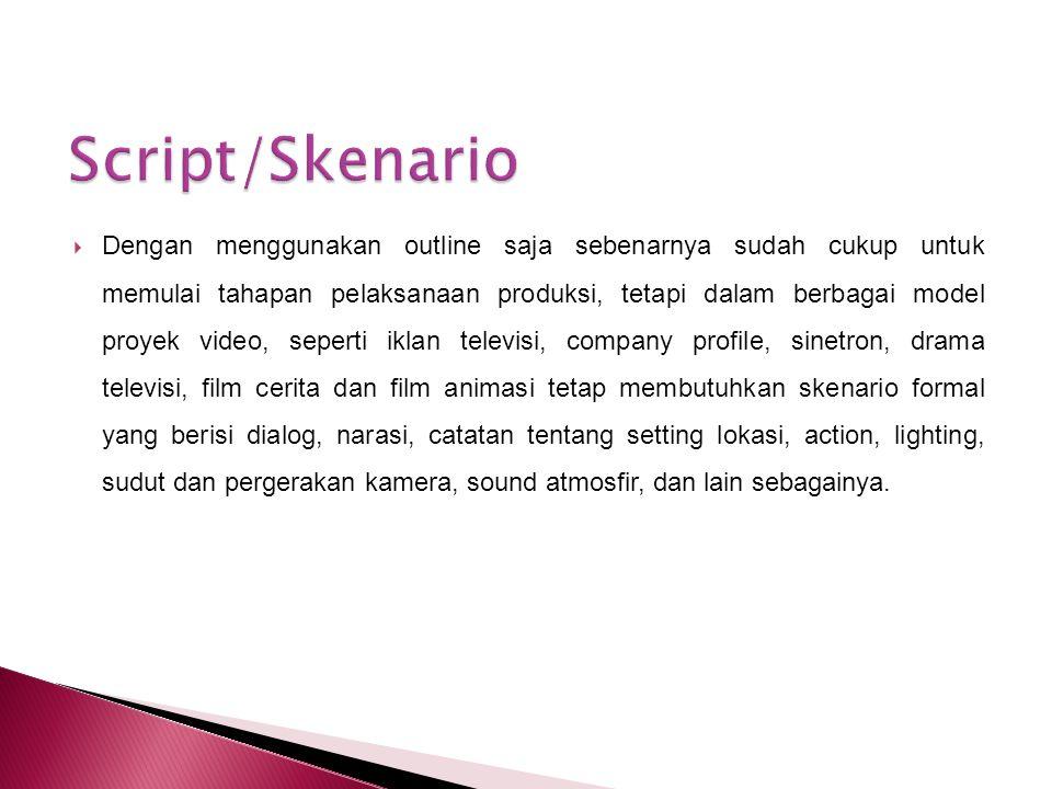 Script/Skenario