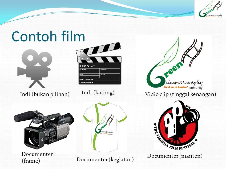 Contoh film Indi (katong) Indi (bukan pilihan)