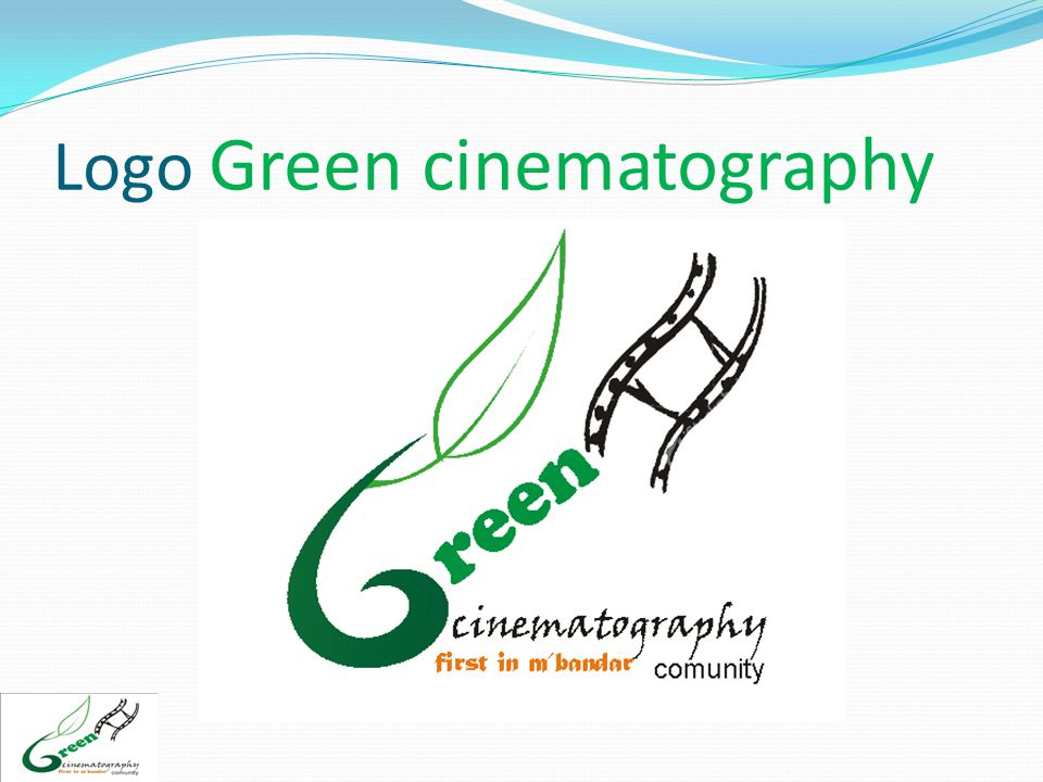 Logo Green cinematography