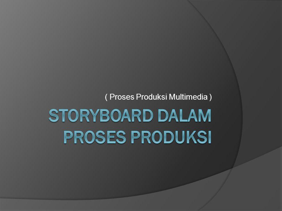 Storyboard dalam proses produksi