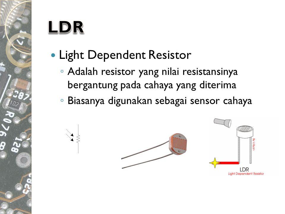 LDR Light Dependent Resistor