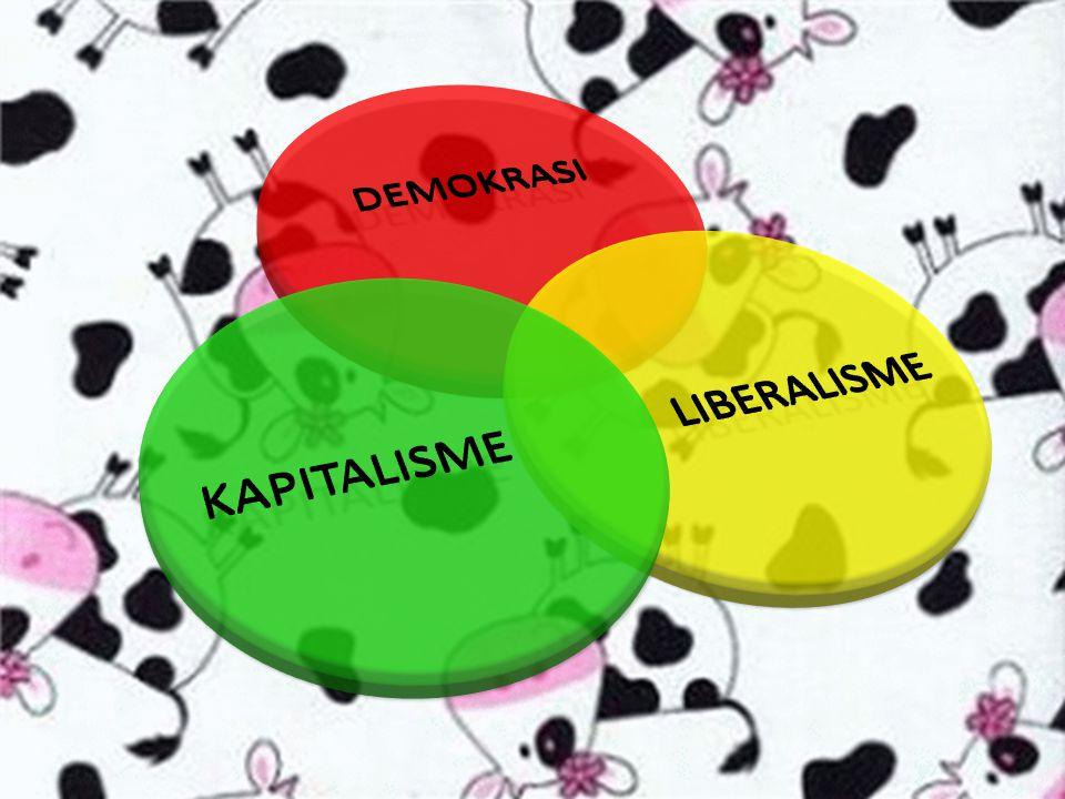 DEMOKRASI LIBERALISME KAPITALISME