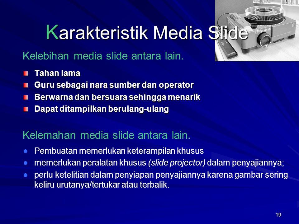 Karakteristik Media Slide