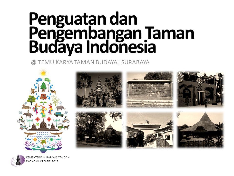 Penguatan dan Pengembangan Taman Budaya Indonesia