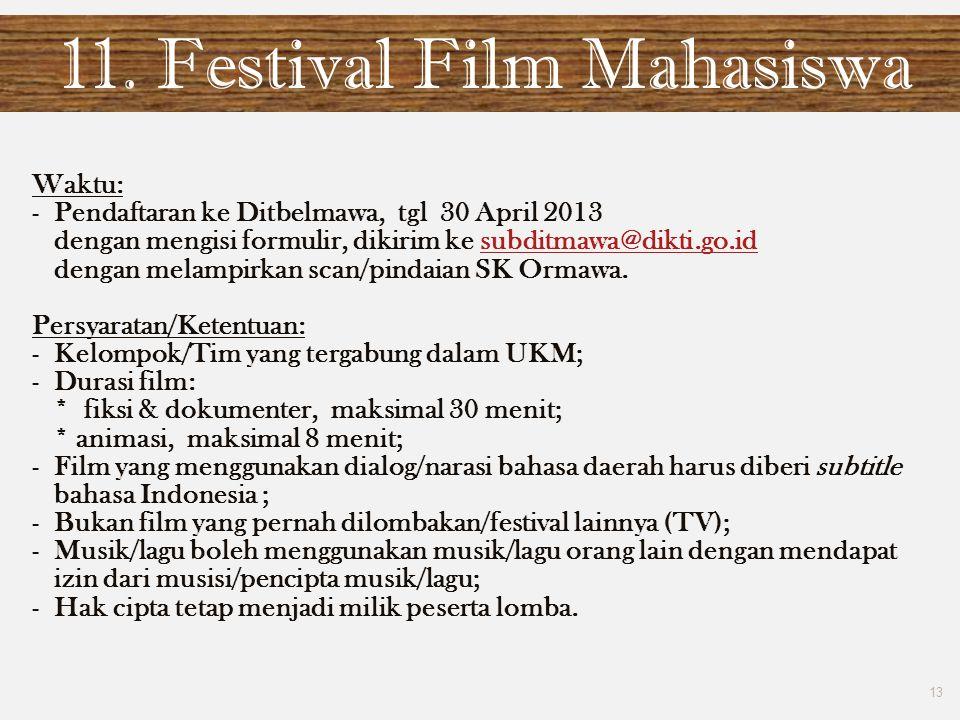 11. Festival Film Mahasiswa
