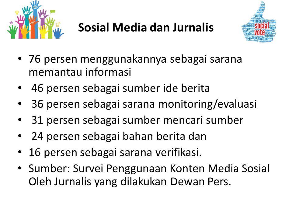 Sosial Media dan Jurnalis