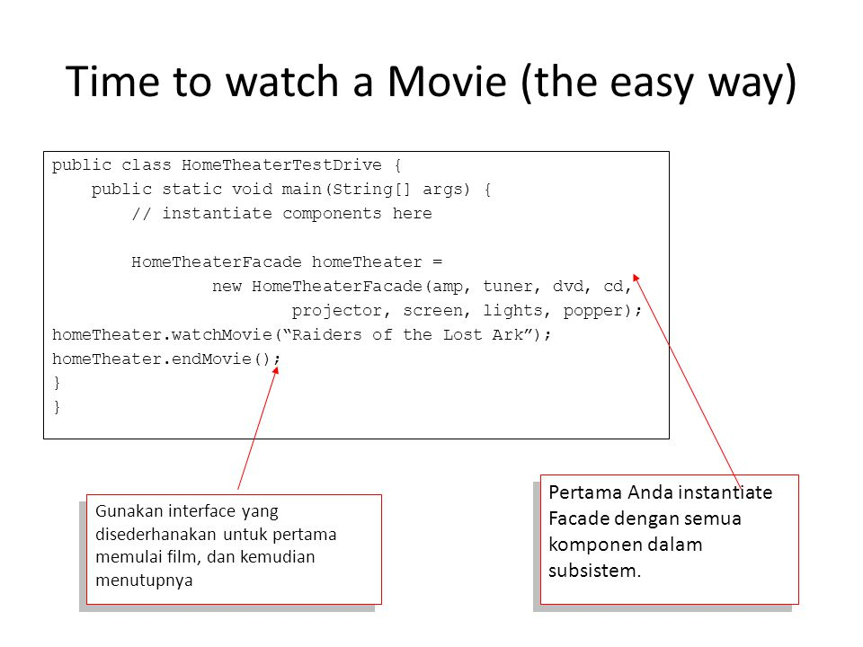 Time to watch a Movie (the easy way)