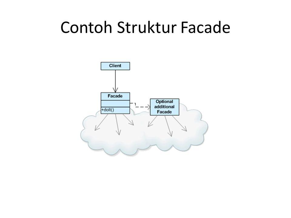 Contoh Struktur Facade