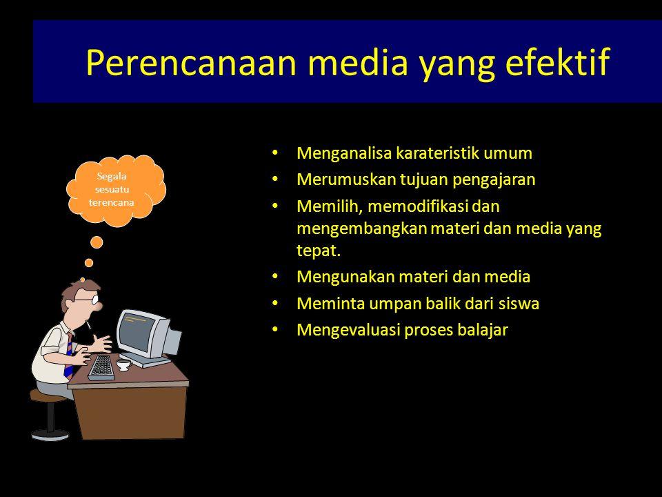 Perencanaan media yang efektif