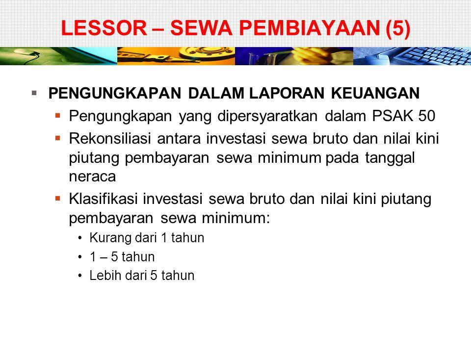 LESSOR – SEWA PEMBIAYAAN (5)