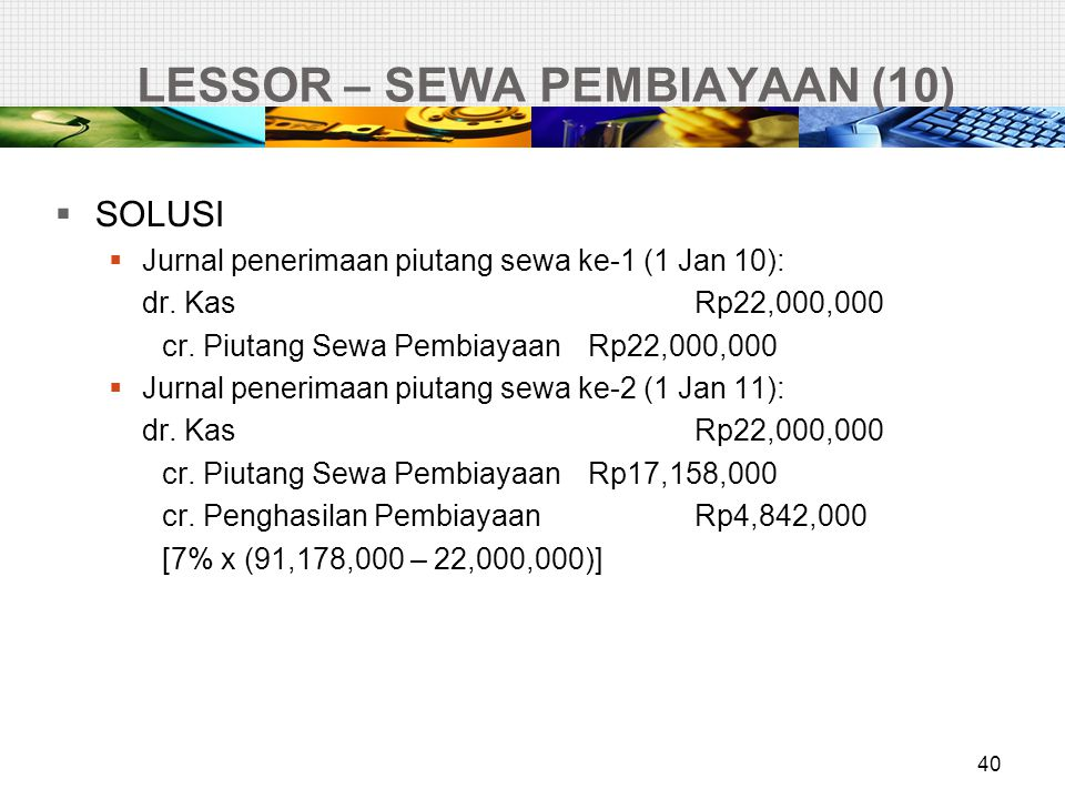 LESSOR – SEWA PEMBIAYAAN (10)