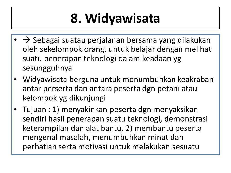 8. Widyawisata