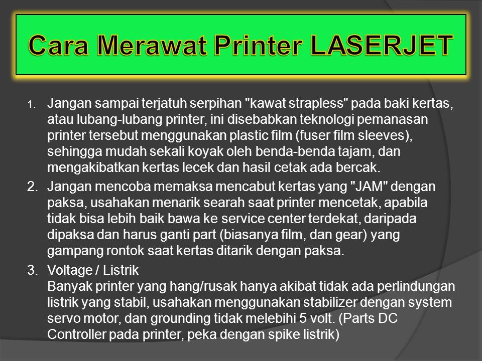 Cara Merawat Printer LASERJET