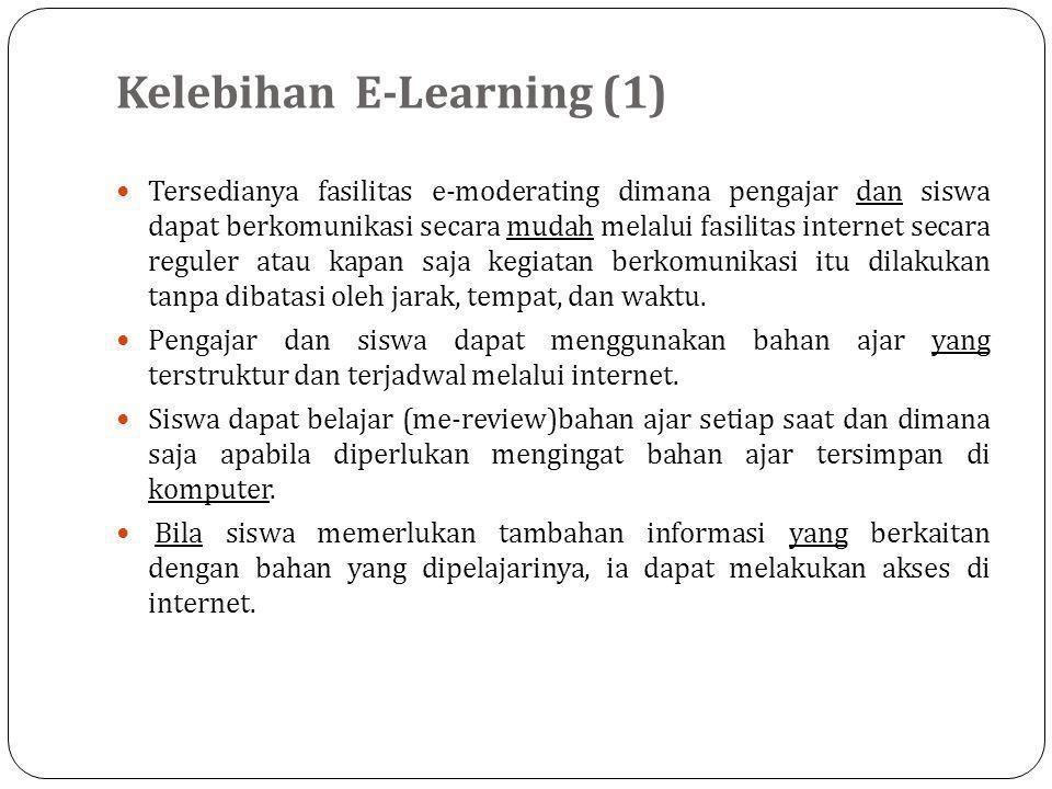 Kelebihan E-Learning (1)
