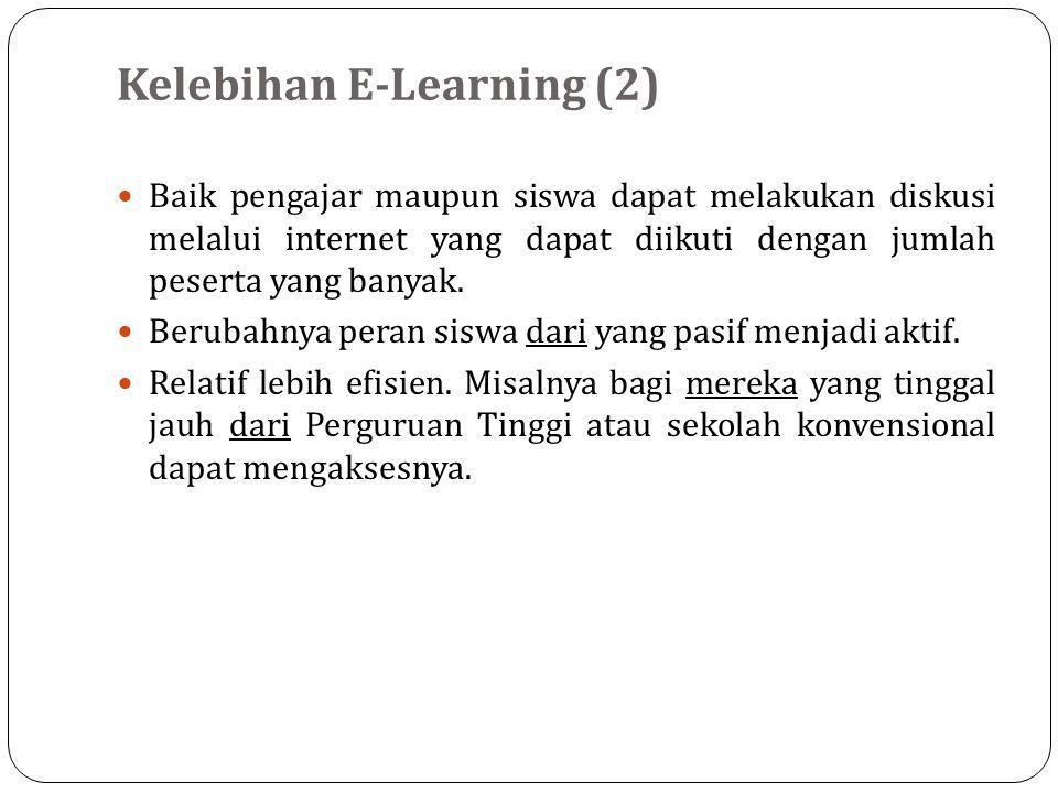 Kelebihan E-Learning (2)