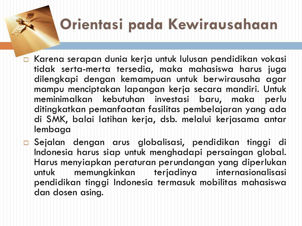 Orientasi pada Kewirausahaan