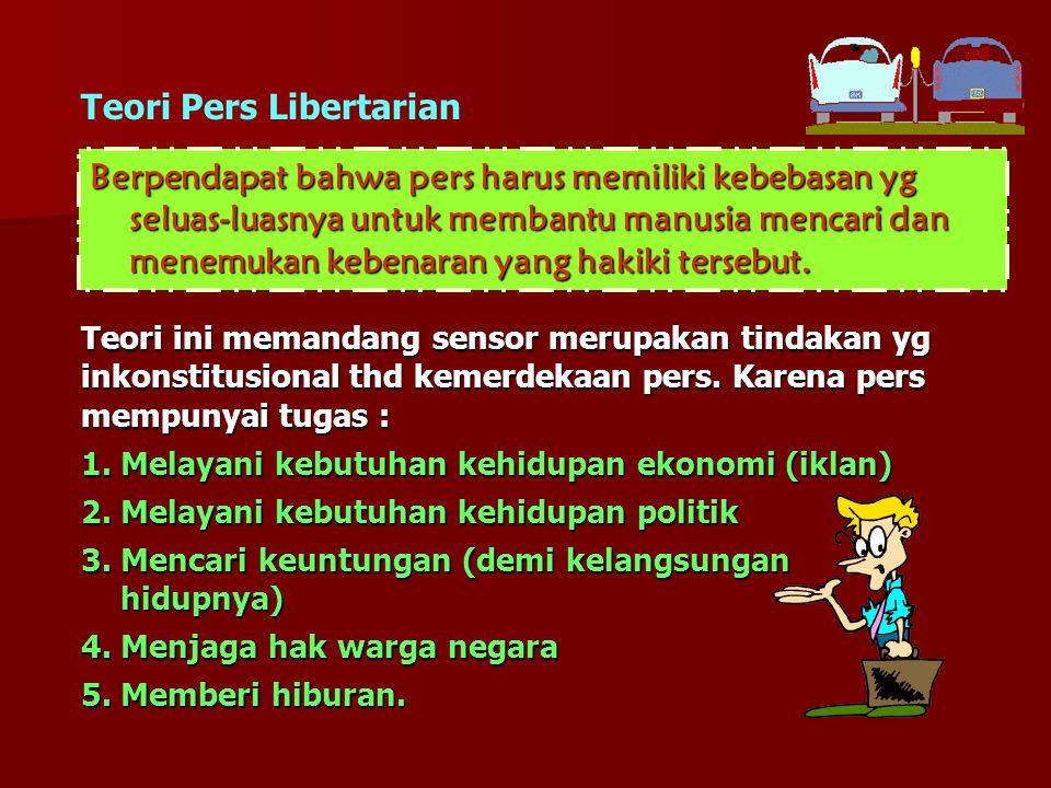 Teori Pers Libertarian