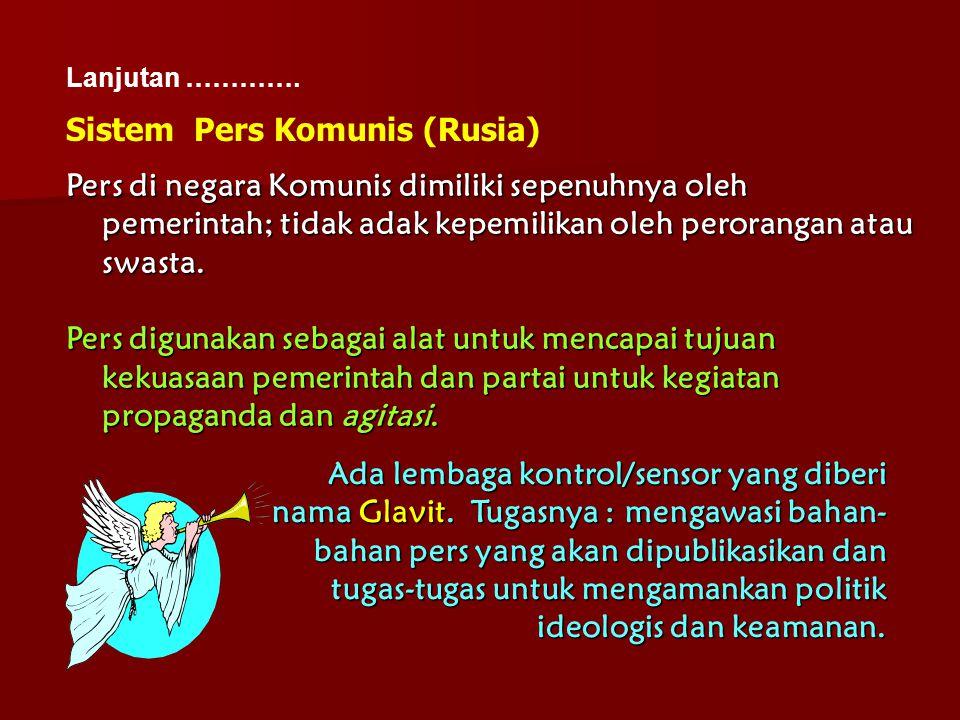 Sistem Pers Komunis (Rusia)