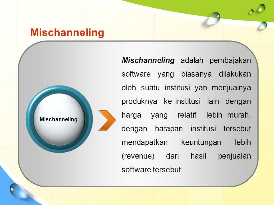 Mischanneling