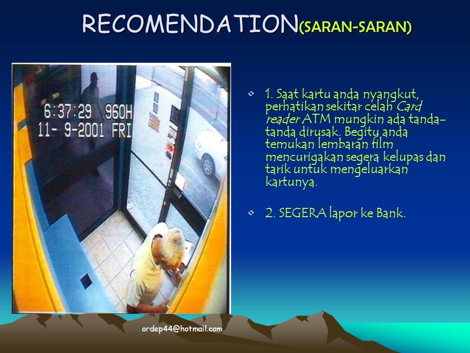 RECOMENDATION(SARAN-SARAN)