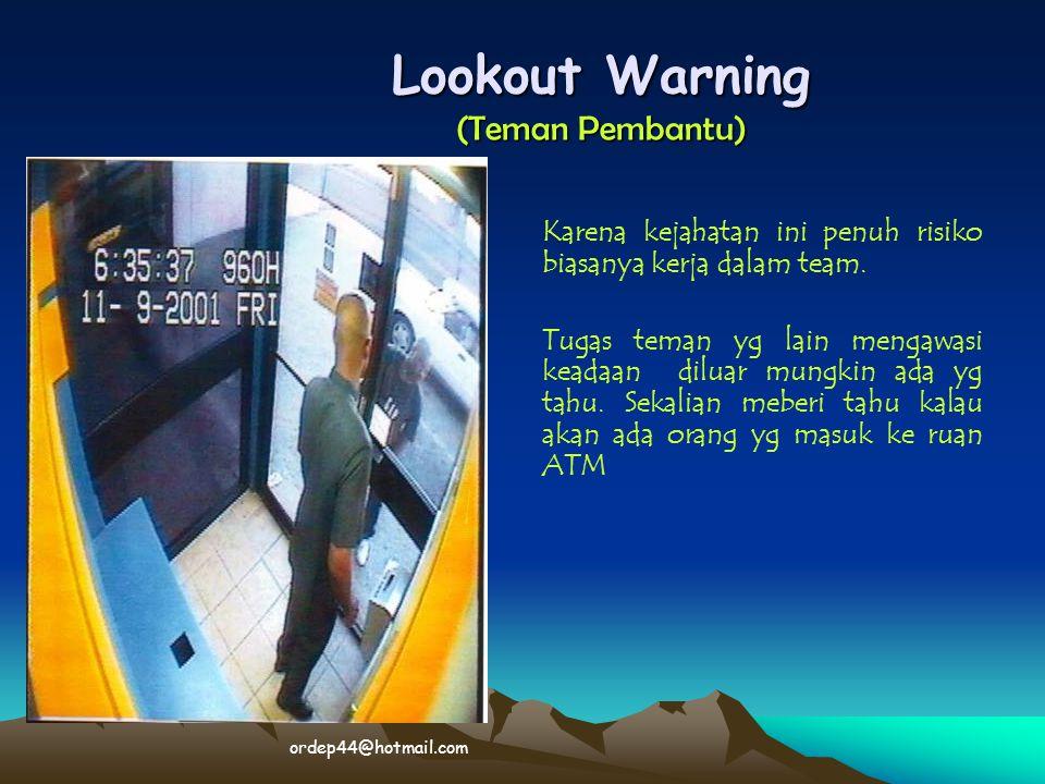 Lookout Warning (Teman Pembantu)