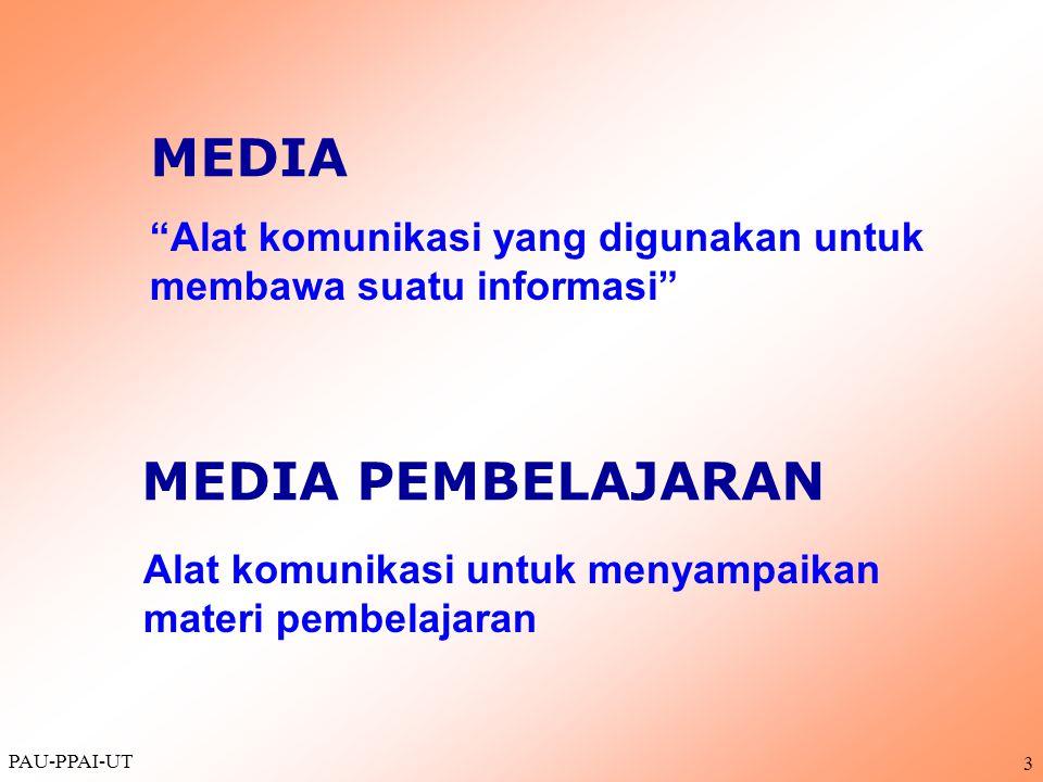 MEDIA MEDIA PEMBELAJARAN