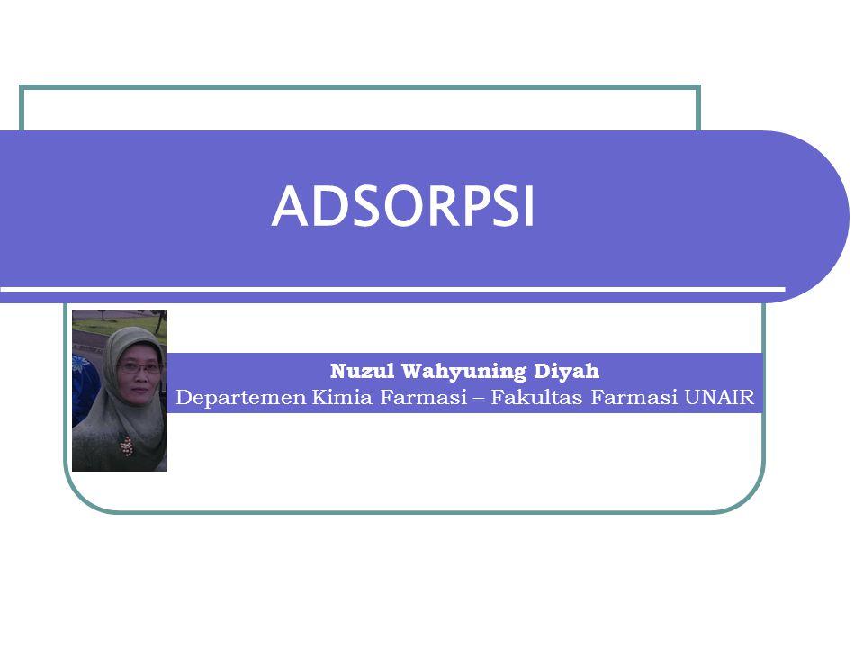 Departemen Kimia Farmasi – Fakultas Farmasi UNAIR