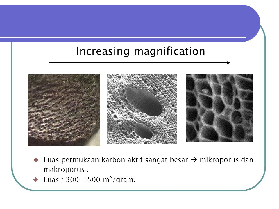 Increasing magnification