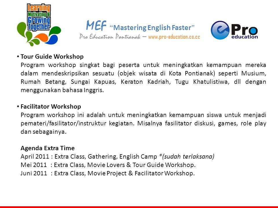 MEF Mastering English Faster