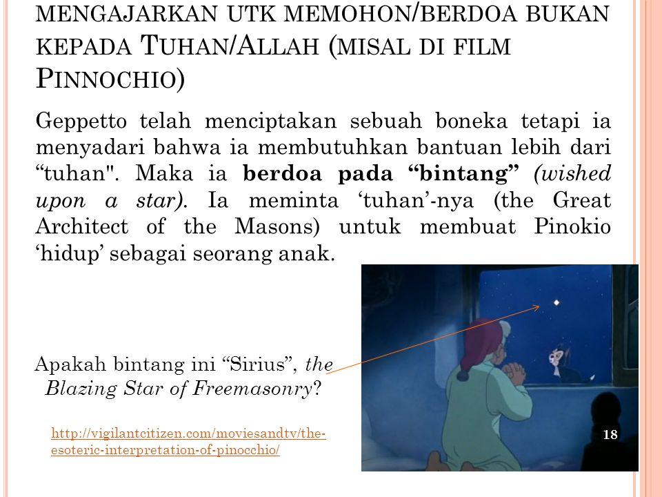 Apakah bintang ini Sirius , the Blazing Star of Freemasonry