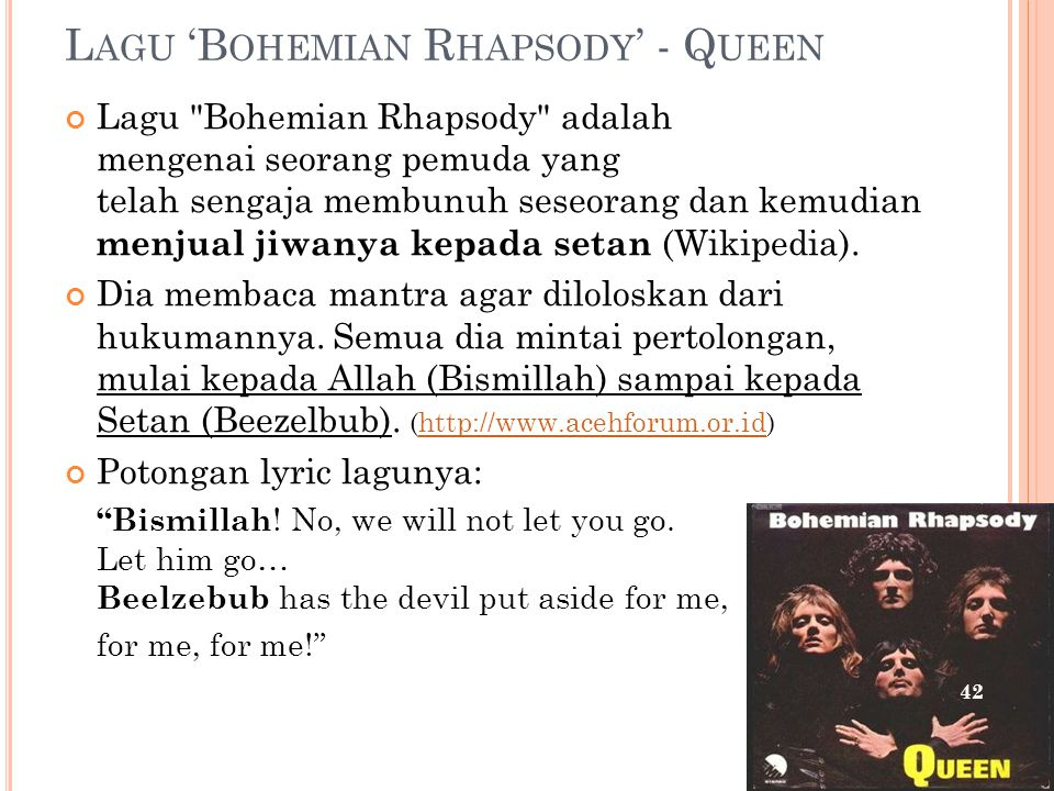 Lagu 'Bohemian Rhapsody' - Queen