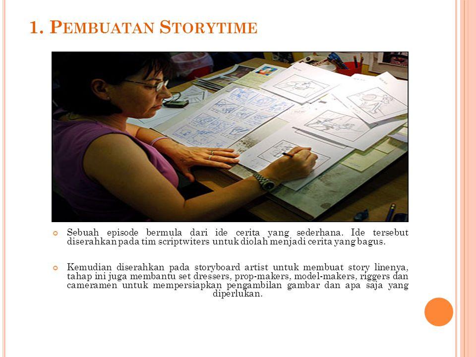1. Pembuatan Storytime