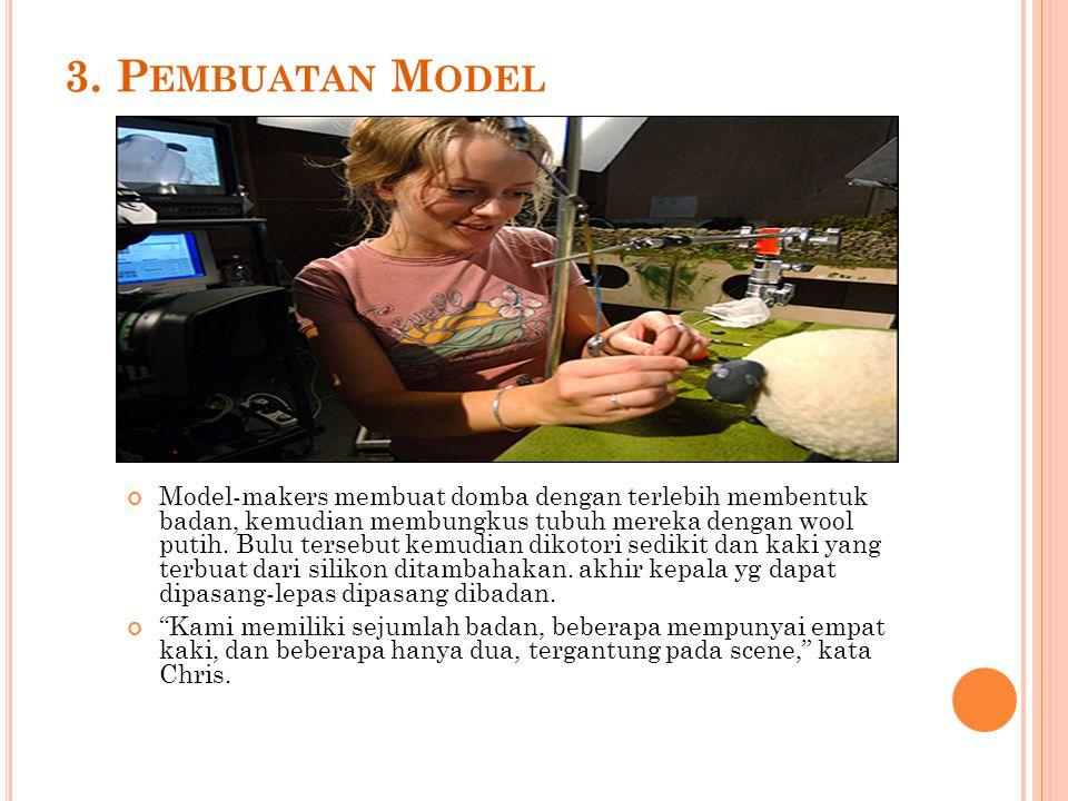 3. Pembuatan Model