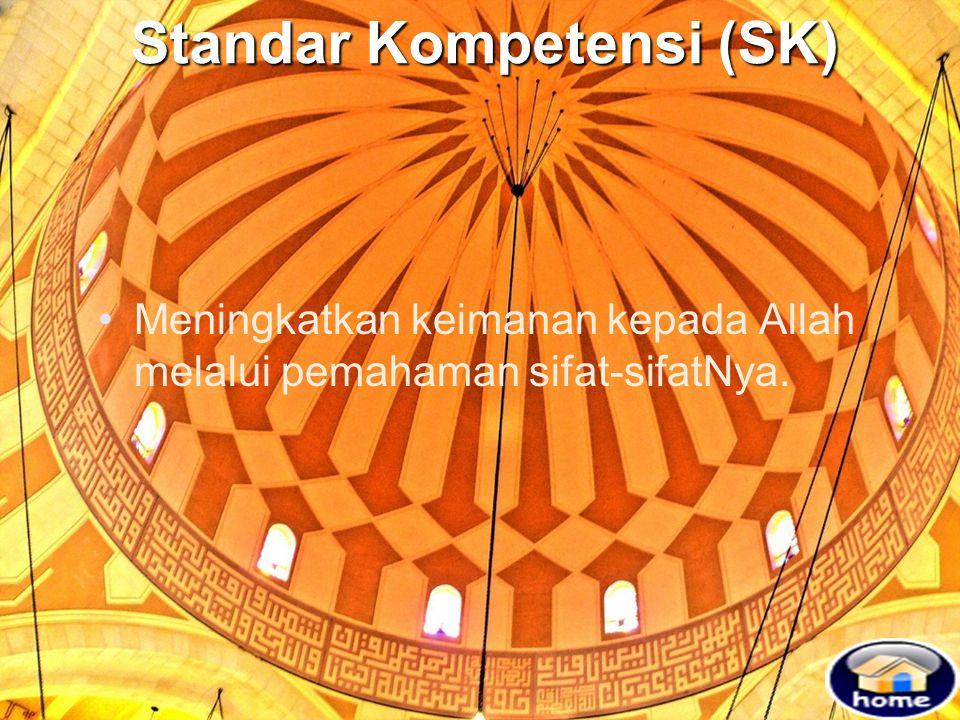 Standar Kompetensi (SK)