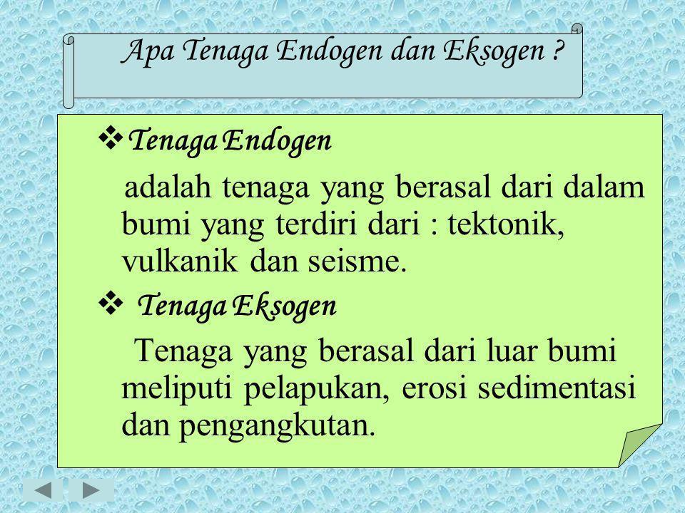 Apa Tenaga Endogen dan Eksogen