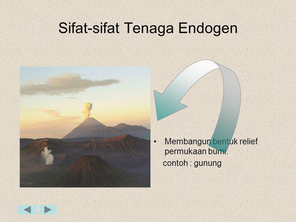 Sifat-sifat Tenaga Endogen
