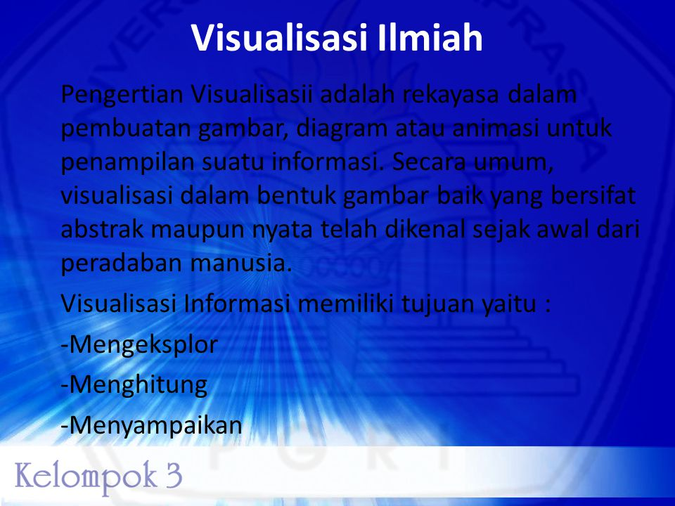 Visualisasi Ilmiah