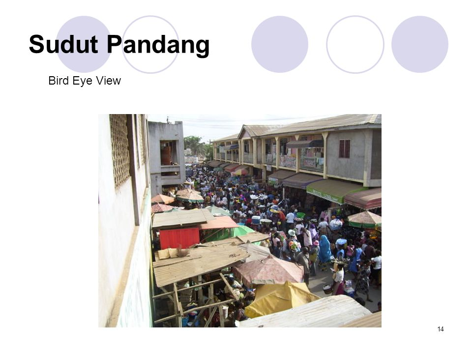 Sudut Pandang Bird Eye View