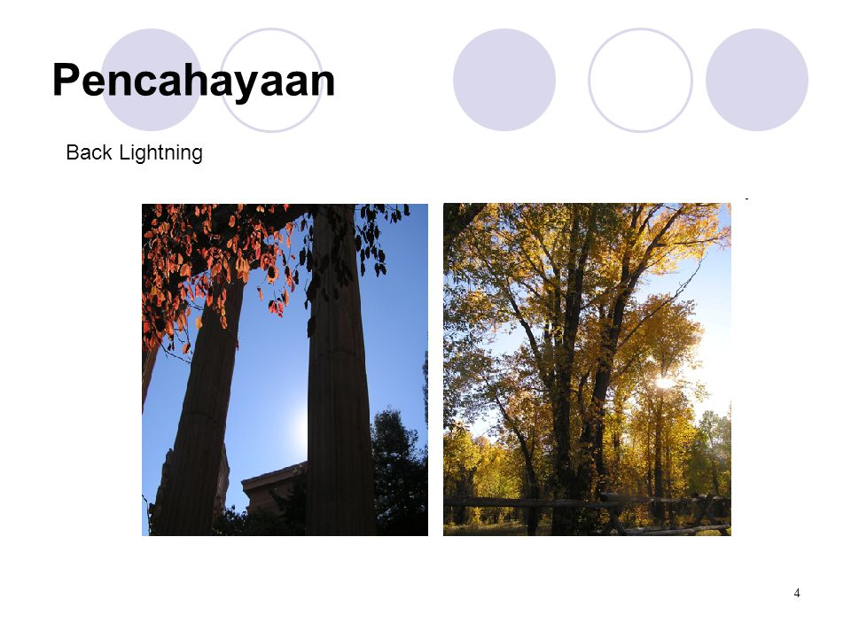 Pencahayaan Back Lightning