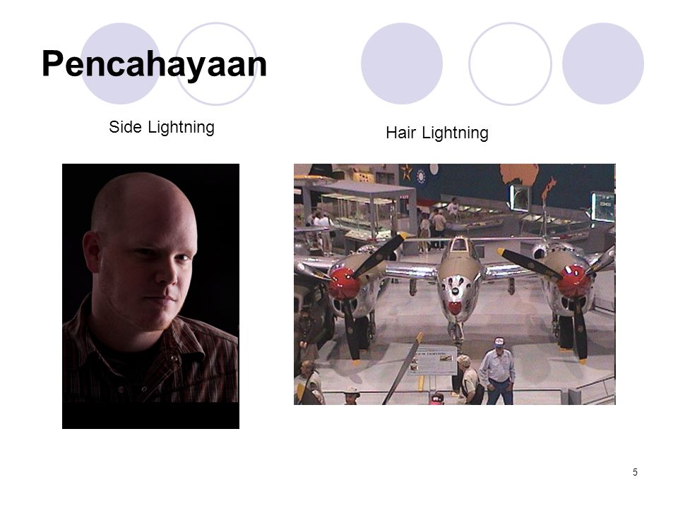 Pencahayaan Side Lightning Hair Lightning