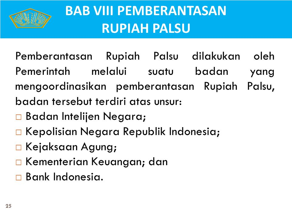 BAB VIII PEMBERANTASAN