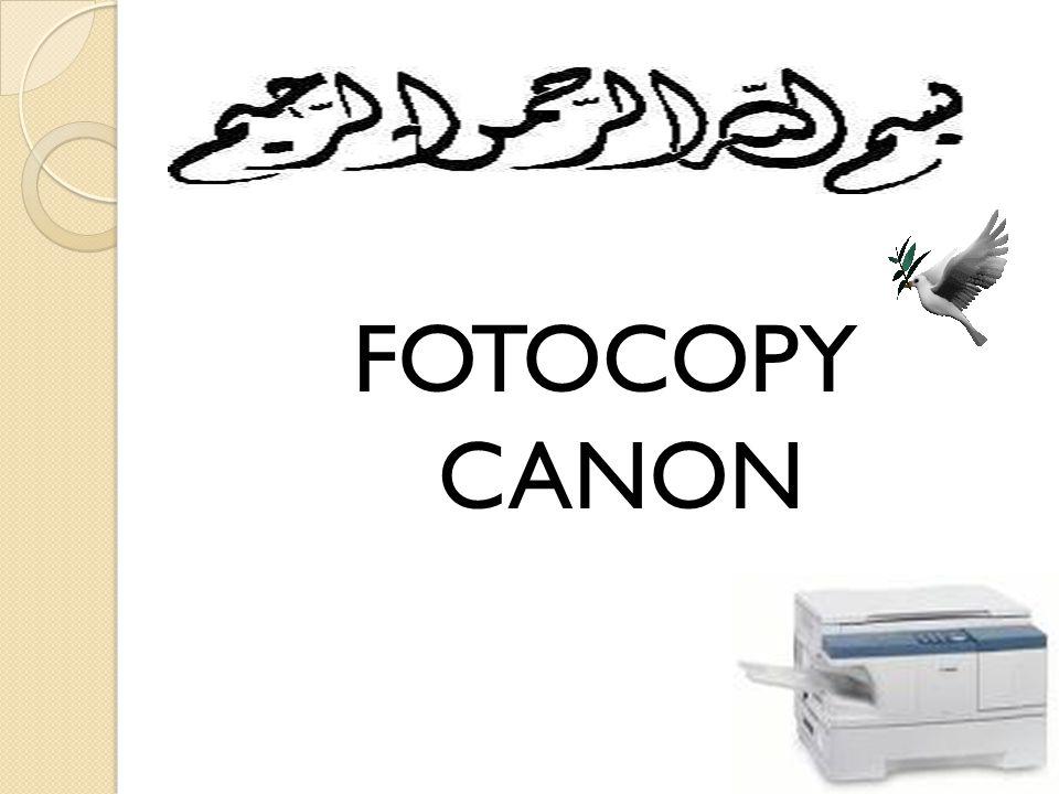 FOTOCOPY CANON