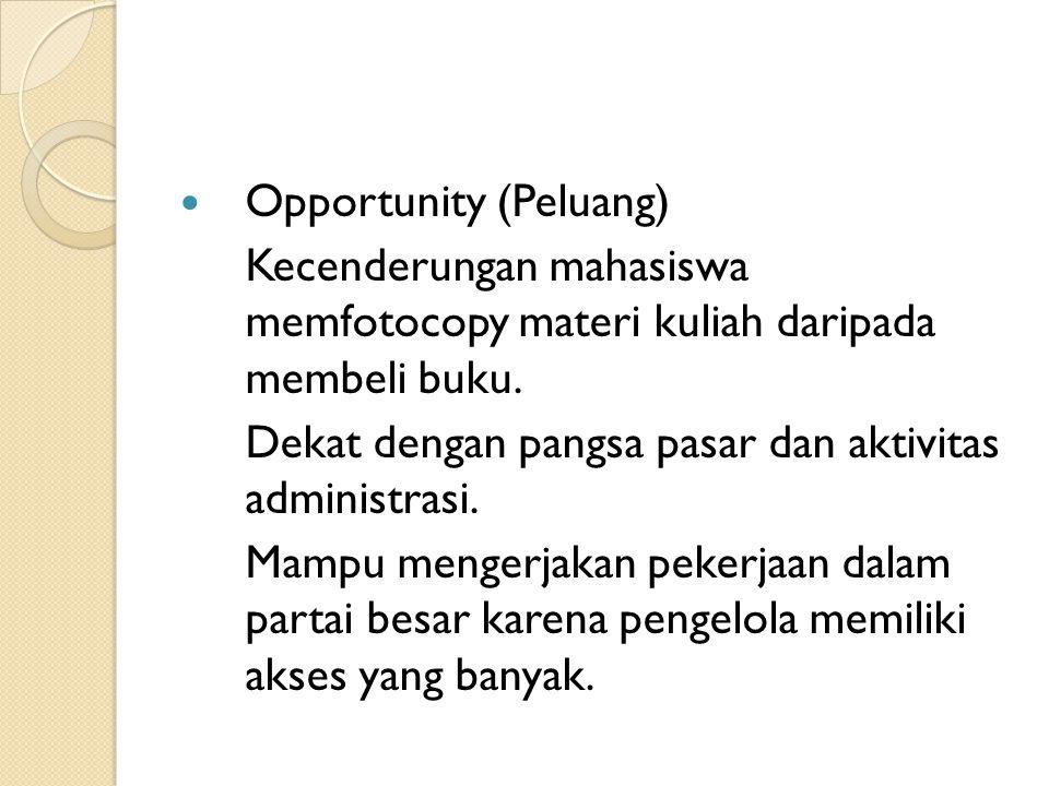 Opportunity (Peluang)