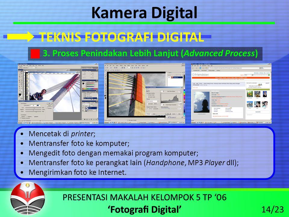 Kamera Digital TEKNIS FOTOGRAFI DIGITAL