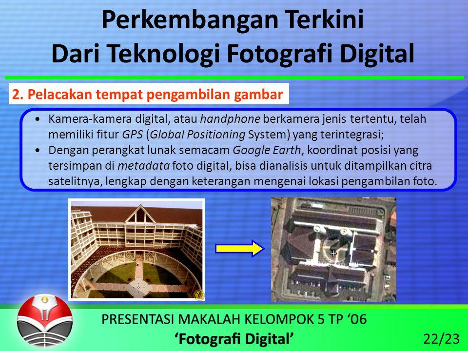 Dari Teknologi Fotografi Digital